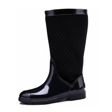 TONGPU Women Rain Boots Casual Mid-Calf Ladies Waterproof Rain Shoes New Arrival Autumn 253-631