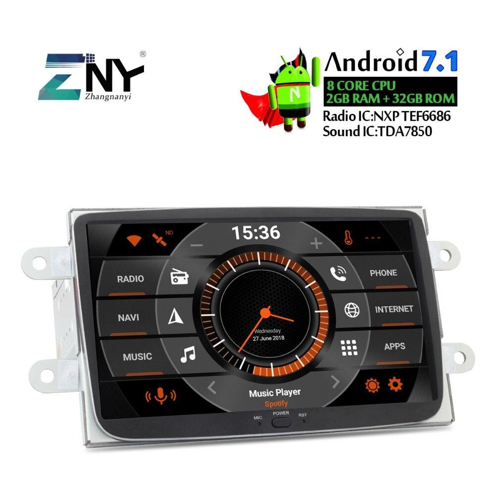 8 HD gps android de voiture Stéréo Pour renault duster Dacia Sandero Logan Dokker Captur auto-radio FM RDS WiFi navigation gps Aucun DVD