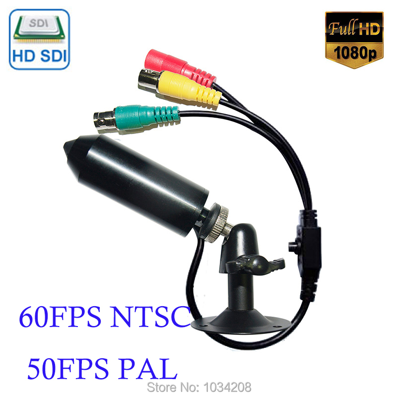 50fps 60fps 1080P EX\HD SDI Camera 1/3 inch progressive scan 2.1 Mega Pixel Panasonic Sensor Mini SDI Camera Bullet Kamera