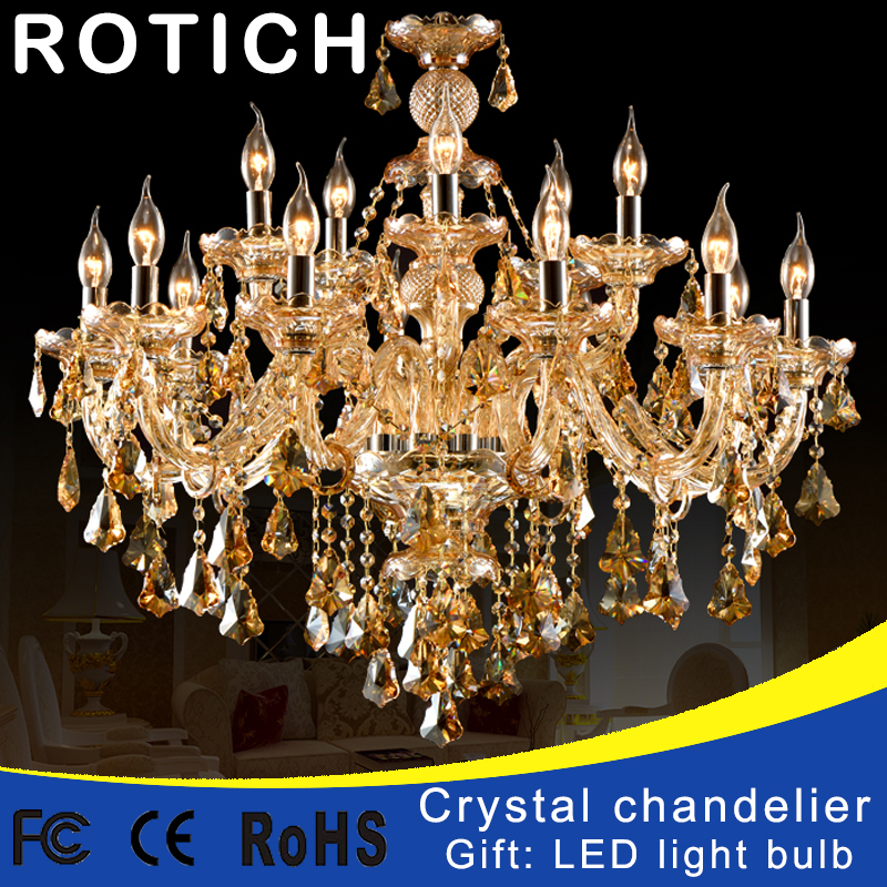 Modern Crystal Chandelier Living Room lustres de cristal Decoration Tiffany Pendants and Chandeliers Home Lighting Indoor Lamp modern water plant chandelier creative wood glass lustres living room cafe clothing store decorative chandeliers lamparas de tec