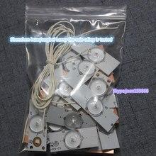 50 pz/lotto 100% NUOVO di alta qualità 6 V SMD Perline Lampada con Lente Ottica Fliter per 32 65 pollici TV LED di Riparazione CL 40 D307 V3