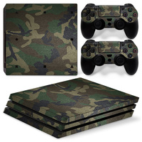2017 New Arrived Vinyl For PS4 Pro Skin Sticker For Sony Playstation 4 Pro Decal Camouflage free shipping