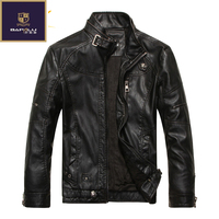 2016 Autumn New Goods Men S Leather Jacket Jaqueta COURO Masculina Bomber Sheepskin Coats Men S
