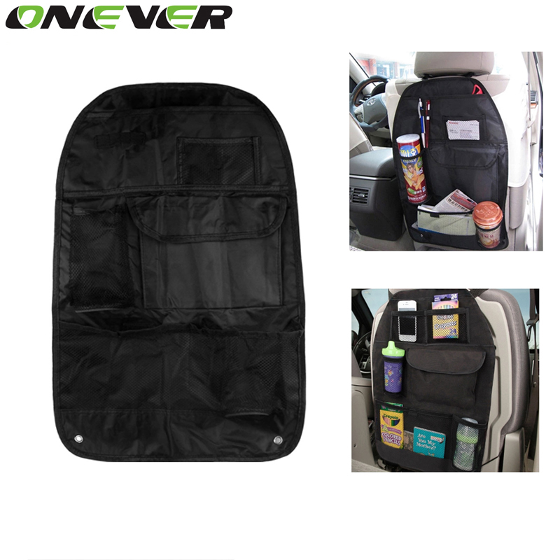 Onever Multi Pocket Back Seat Storage Car Seat Cover