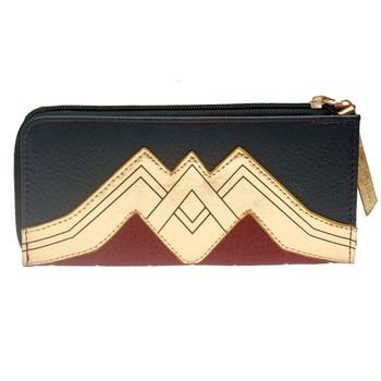 Wonder woman Zip Around Wallet pu Long Fashion Women Wallets Designer Brand Purse Lady Party Wallet Female Card Holder