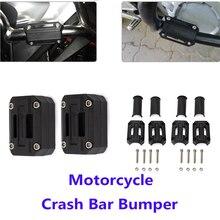 цены Motorcycle Engine Guard Bumper Protection Decorative Block 22/25/28mm Crash Bar For BMW R1200GS R1250GS ADV For HONDA CRF1000L