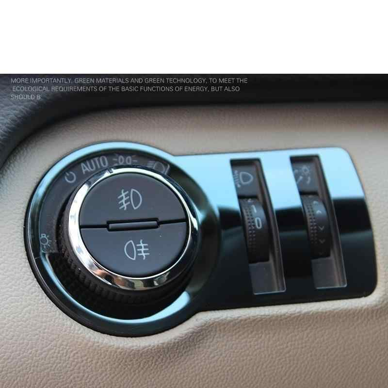 Headlamp Headlight Switch Ignition Automobile Auto Car Styling Decoration 09 10 11 12 13 14 15 16 17 18 FOR Chevrolet Malibu