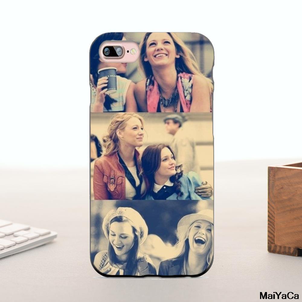 MaiYaCa Silicone case New Gossip Girl Design best friens Amazing landscape Phone Case Fo ...