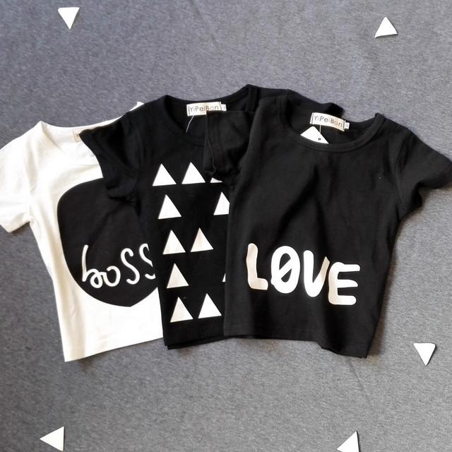 Bobo Choses resorte de los niños camisetas niños 2016 niñas moda ojo imprimir algodón de manga larga camisetas y ropa tapa del verano 2016