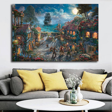 Pirates Of The Caribbean Slaapkamer.Oothandel Pirates Of The Caribbean Oil Painting Gallerij