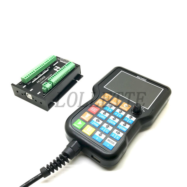 C Card USB CNC Motion Controller System Axis Controller Board NCH02 3 Axis 4 Axis 5 Axis(Optional)