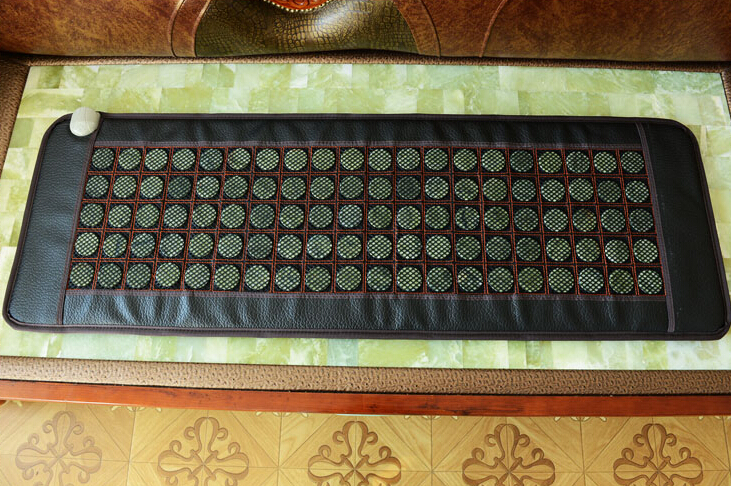 Hot selling korea health care jade mattress heating health jade mattress sleeping tourmaline mat free gift eye cover 50*150CM health care product for 2017 korea heated mattress heat mat with stones jade heating jade mattresswith free gift eye cover