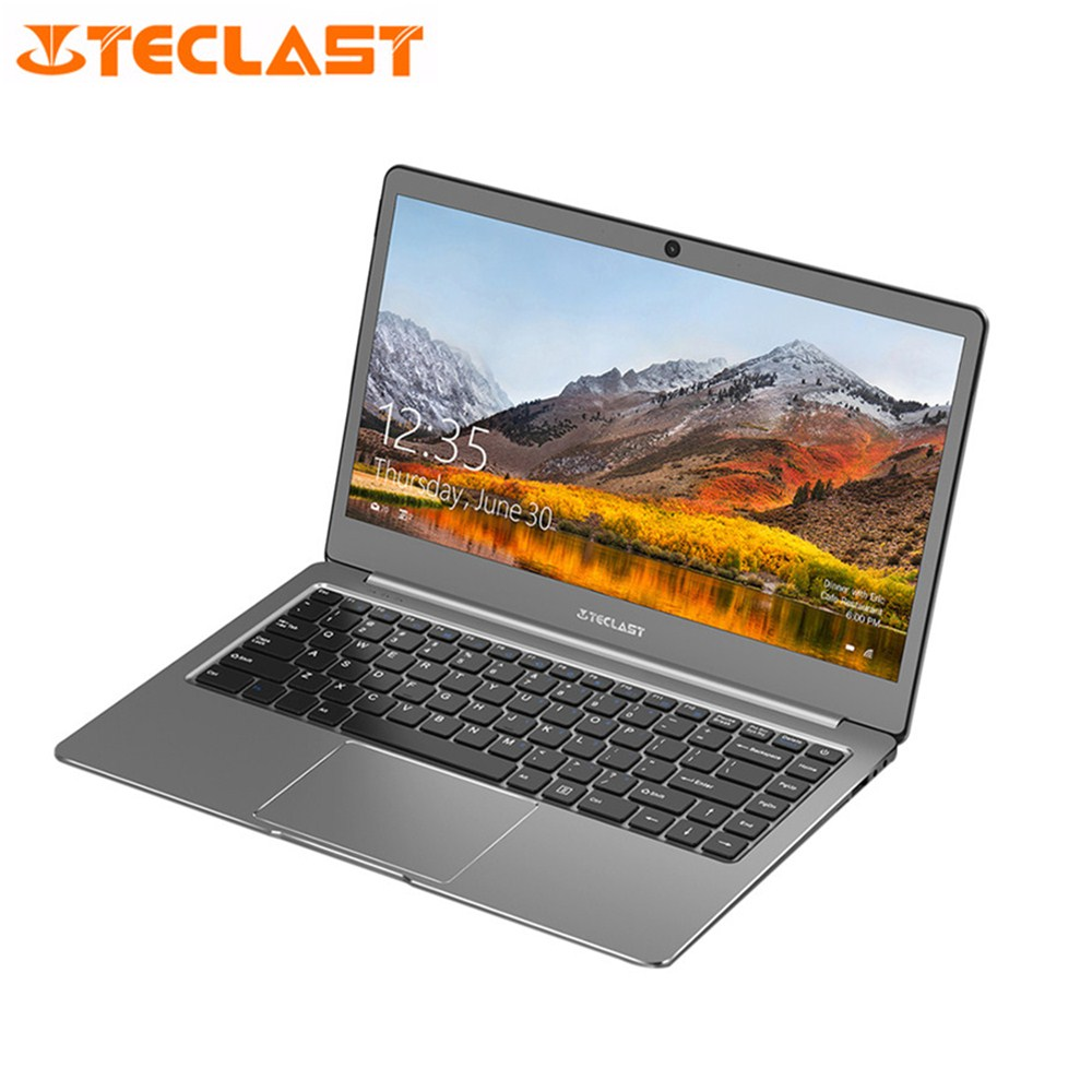 "Teclast laptop F6 notebook 6gb RAM 128GB SSD 13.3"" Windows10 Home English Version Intel Quad Core 1.10GHz bluetooth Camera HDMI"
