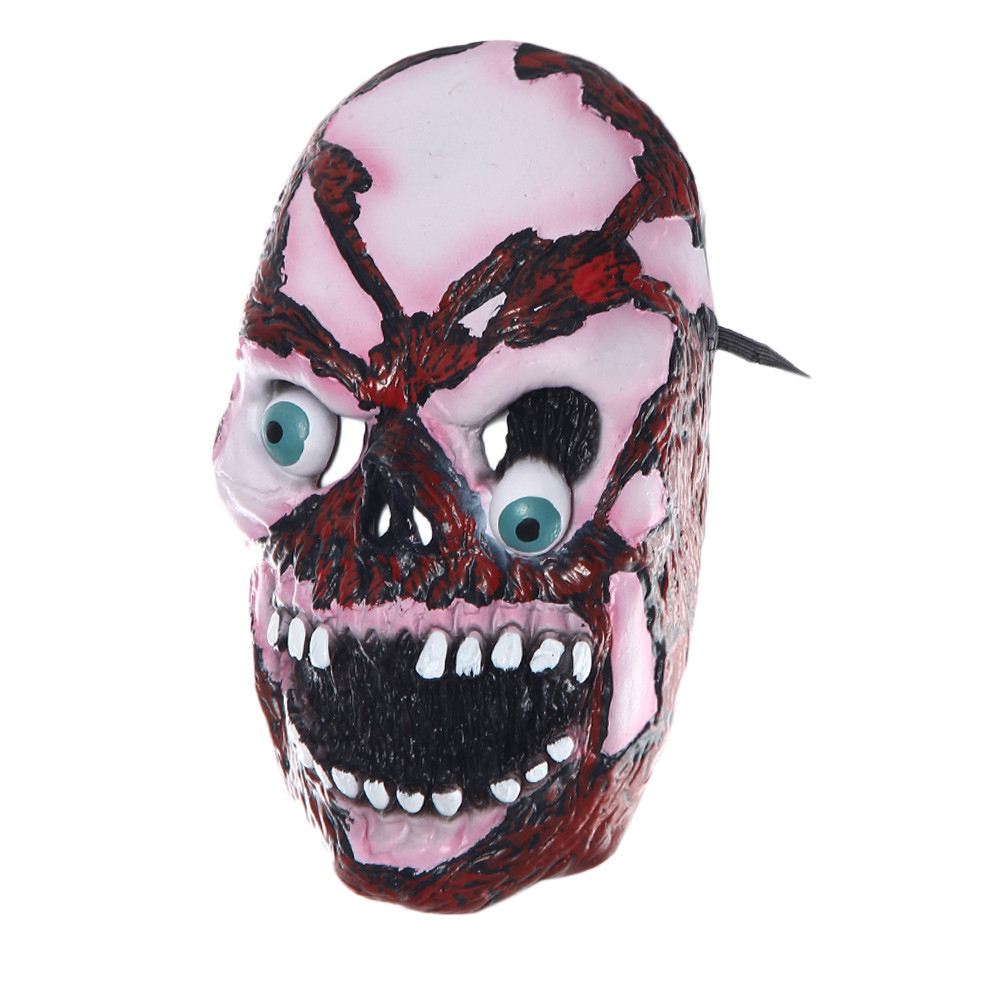 halloween party skeleton zombie mask cosplay mask terror mask mascara mascarar masque maske achina