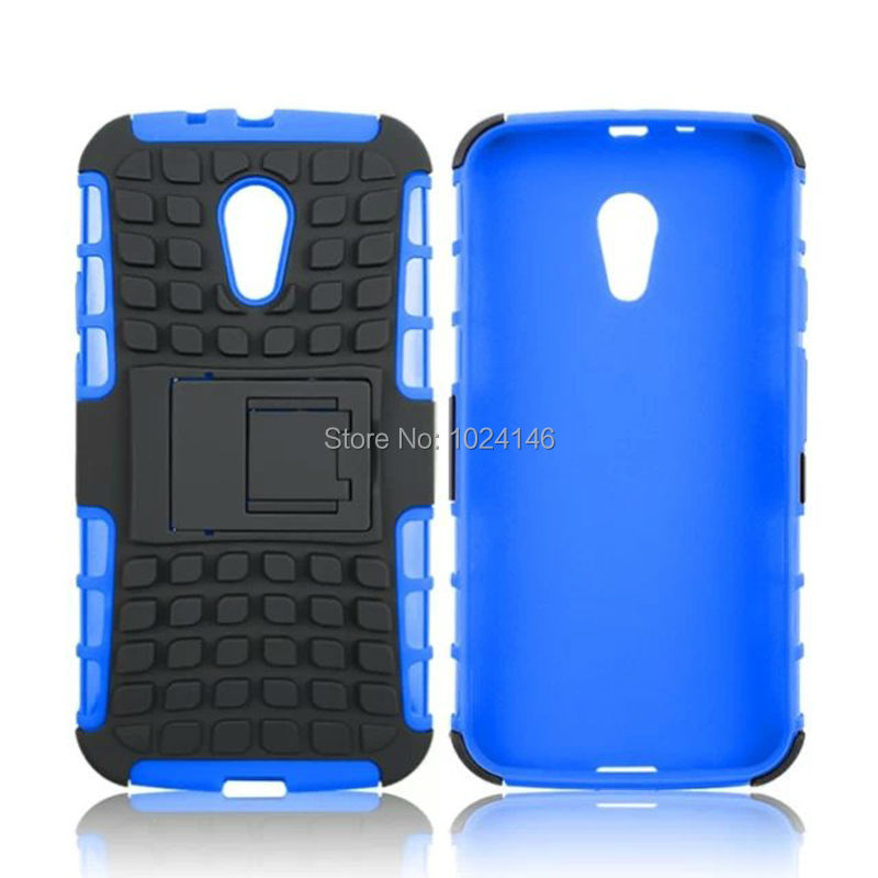 New Hybrid Heavy Armor Duty Impact Shockproof Hard Rugged Case Stand Holder Cover For Motorola Moto G2 G+1 G 2 2nd Gen 5.0 Inch