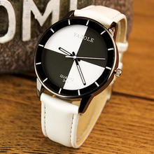 Top Brand luxury watch women fashion designer leather quartz waterproof wrist geneva  women watch yazole hongc 345