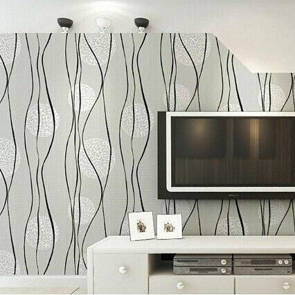 aliexpress.com : acquista promozione cerchio stripes wallpapers ... - Decorazioni Per Pareti Soggiorno