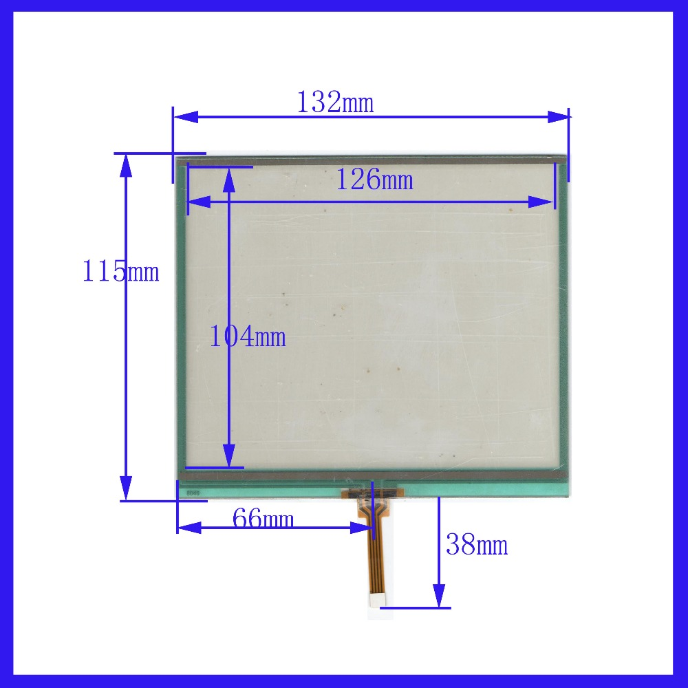 NEW 6.2 inch 132mm*115mm Touch Screen 4 wire resistive USB touch panel overlay kit 132*115 TOUCH SCREEN
