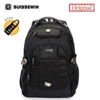 2017 Suissewin Brand Men Laptop Backpack Bag Swiss Orthopedic Backpack Male Cool Backpack For Teenagers Rucksack