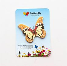 ФОТО 1 pieces lytwtw's korean cute butterfly sticky notes creative stationery post notepad filofax memo pads office supplies school