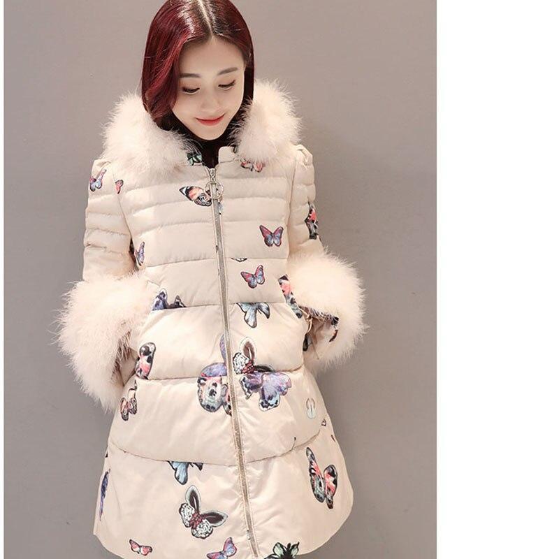 Hiver Slim Le Femmes À Vers Bas Mode Grande Épais Long Manteau Color Vestes Cream Capuche Taille Ouatée Veste gray Coton dWqPIxR