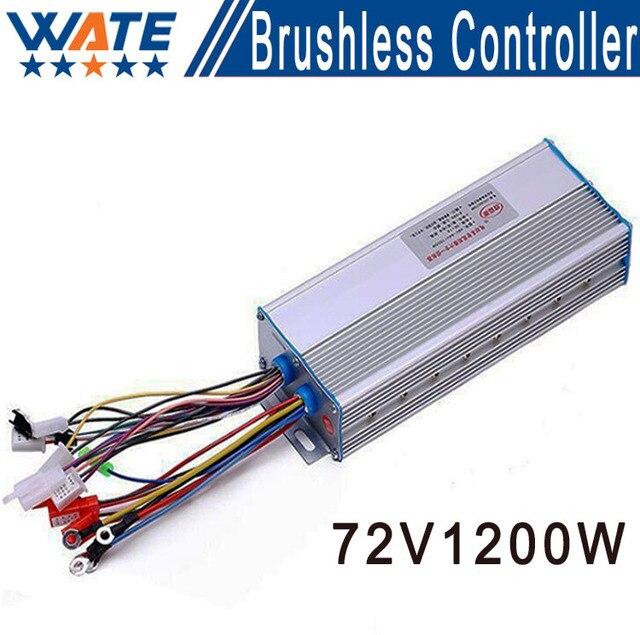 Brushless DC motor control screamer of 72 V 1200 W for scooter brushless controller