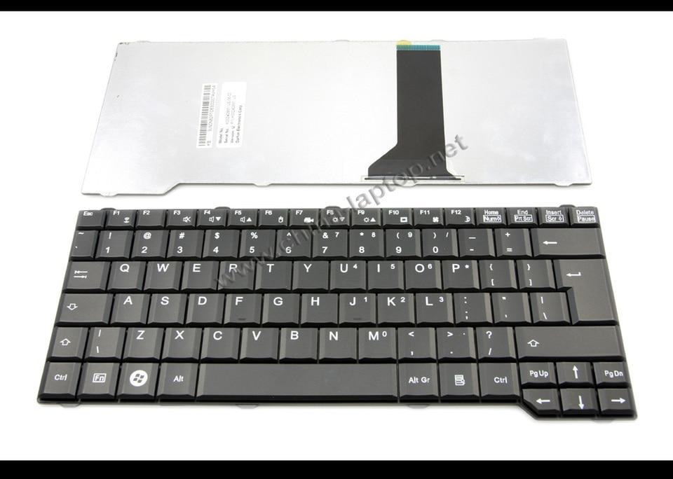 TASTIERA notebook laptop nera per Fujitsu-Siemens Esprimo d9510