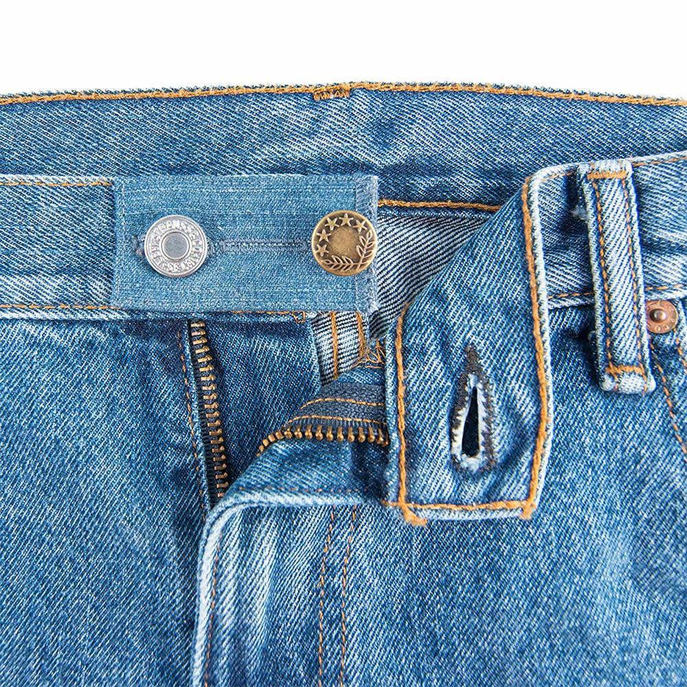 1 paczka elastyczny pas Extender silne regulowane spodnie przycisk łatwe dopasowanie Extender odzież spodnie prezent dla mężczyzn i kobiet #40