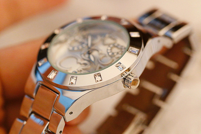 38mm grand cadran femmes montres Quartz dame montres dames daffaires robe montre fille mode Simple montre Relojes Mujer 2018