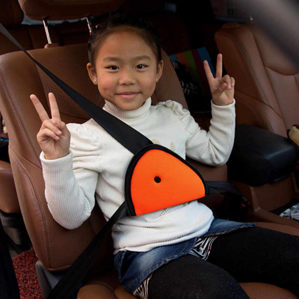 Accesorios para coche cinturón de seguridad para coche bebé niños Protector cinturón cómodo para asiento de coche