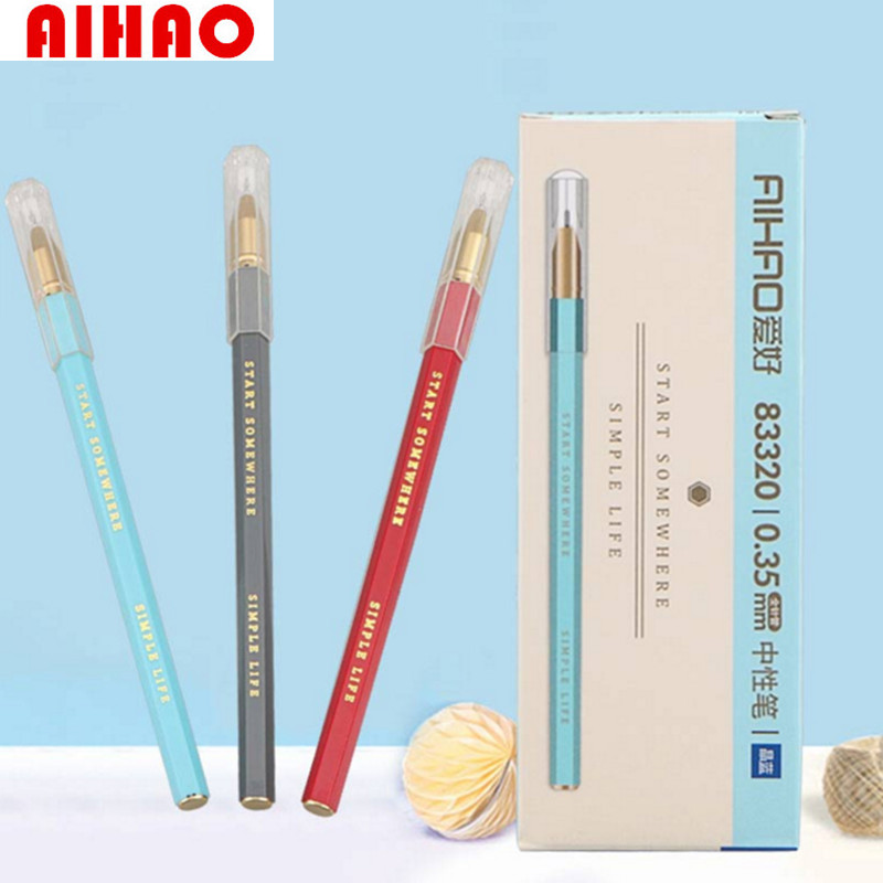 Aihao New Arrival Candy Colorful Pen Creative Kawaii Korean Stationery School Office Supplies Free Shipping In Gel Pens From On