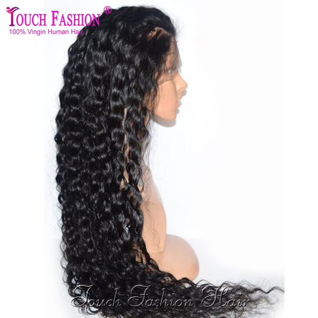 Hot Glueless Curly Full Lace Human Hair Wigs for Black Women Lace Front Wigs Unprocessed Virgin Brazilian Curly Full Lace Wig