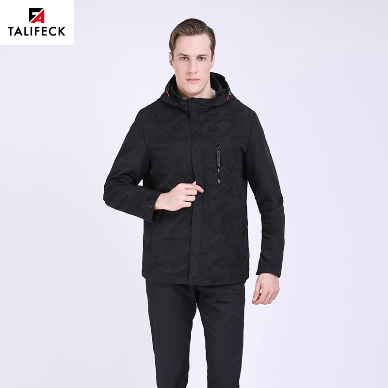 TALIFECK New Men's Spring Autumn Jackets Fashion casual Coat windbreaker  high quality Brand Clothing  Camouflage Mens Outwear