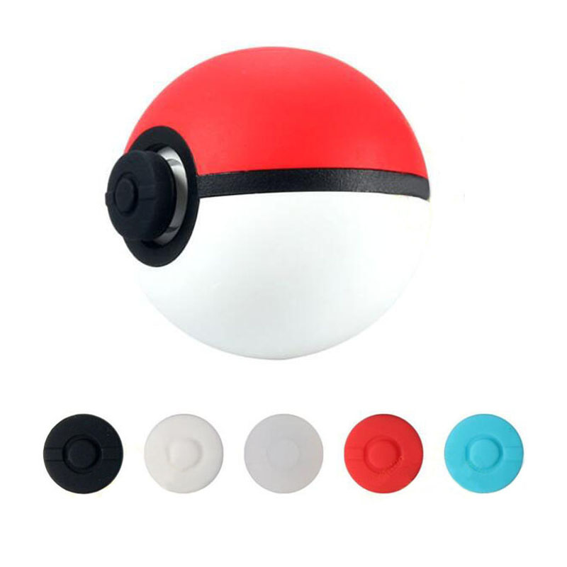 2pcs Thumb Stick Grips Cap Thumbstick Joystick Cover Case For Nintend Switch NS Pokemon Poke Ball Plus Pokeball Game Controller