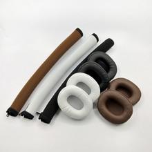 Soft Protein Foam Ear Pads Cushions for Audio-Technica ATH-SR5 ATH-MSR5 ATH SR5 SR5BT MSR5 Headphones 1.8 цена