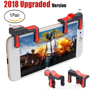 Image 5 - Mobile Game Joystick Trigger L1R1 Controller Fire Button Aim key Smart phone for PUBG rules of survival Mobile shooter Triggers