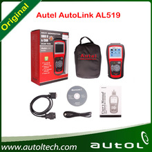 Autel AutoLink AL 519 OBDII CAN Scan Tool with Color Screen Auto Link AL 519 OBD II Code Scanner