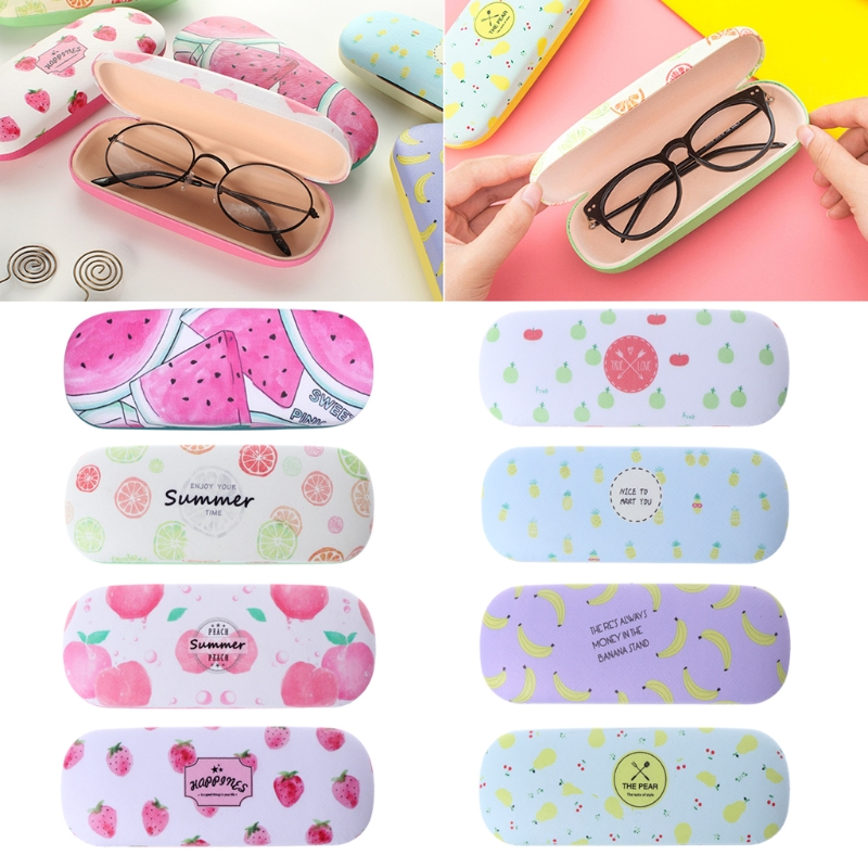 Back To Search Resultsapparel Accessories Protable Fruit Sunglasses Hard Eye Glasses Case Eyewear Protector Box Pouch Bag Eyewear Accessories