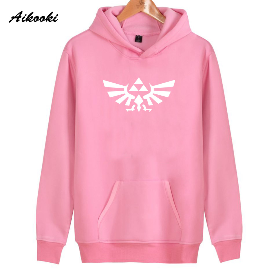 high quality Hoodie Tops Aikooki New Fashion legend of zelda Hoodies Men Casual legend of zelda Hoodies Women/Men Sweatshirt