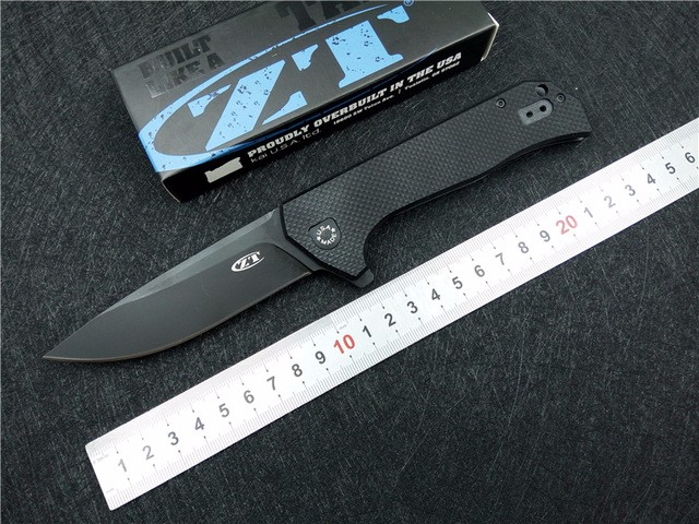New font b tactical b font Folding font b Knife b font G10 Handle outdoor camping