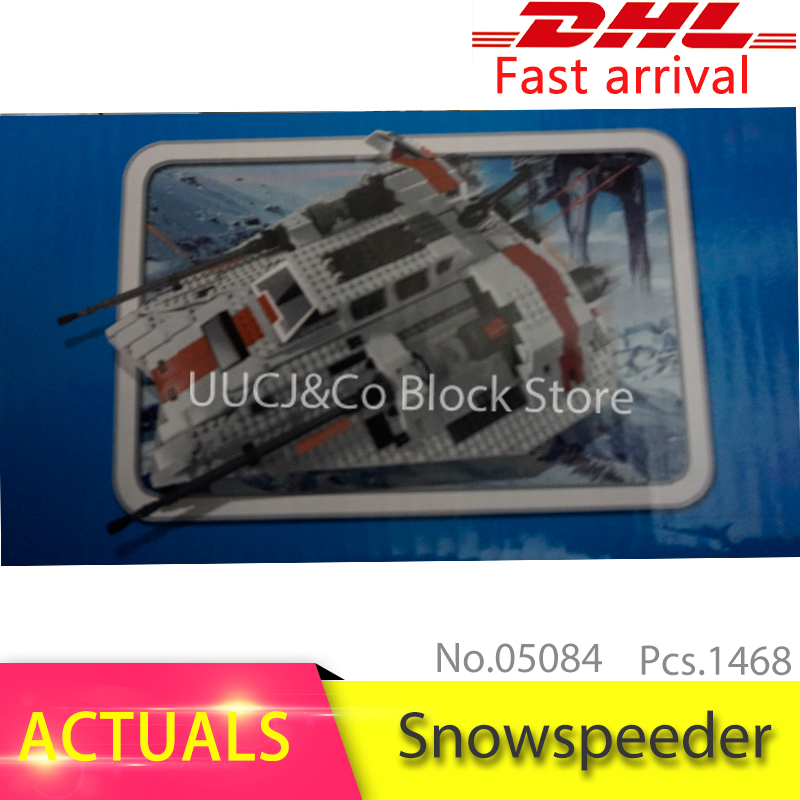 LEPIN 05084 Star 1457Pcs wars Series The Snowspeeder Model Building Blocks Set Bricks Toys For Children Gift compatible 10129 new lepin 16009 1151pcs queen anne s revenge pirates of the caribbean building blocks set compatible legoed with 4195 children