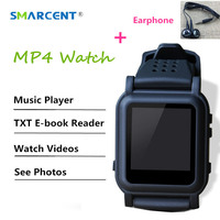 New Arrival MP4 Watch 4GB Memory EBook Watch Support E Book Reader Music Player Different Language