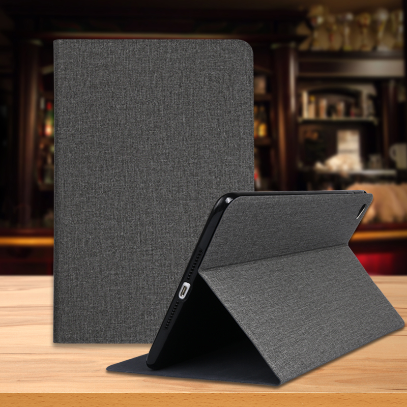 QIJUN Case For Samsung Galaxy Tab A 8.0 2019 T290 SM-T290 SM-T295 T297 Leather Folding Flip Stand Cover Soft Silicone Coque