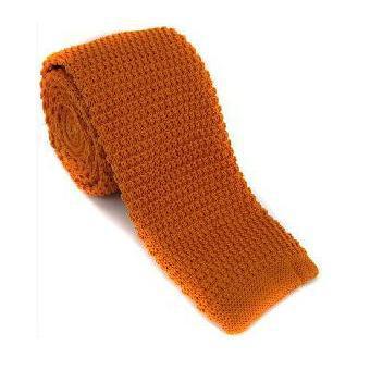 2019 padat rajutan ikatan kurus untuk pria wol Crochet hitam dasi - Aksesori pakaian - Foto 4