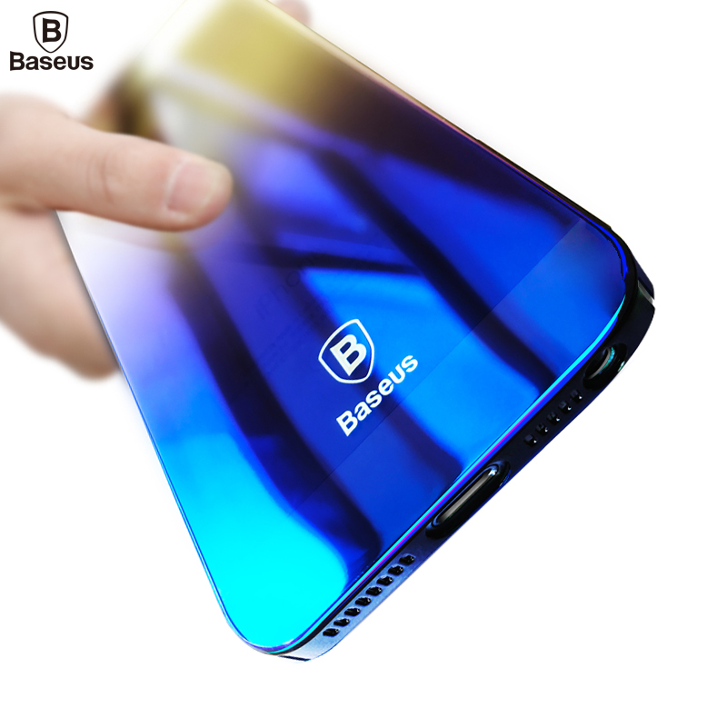 Baseus Glaze Case For iPhone 5s Luxury Ultra Thin Gradient Color Capinhas Hard PC Cover Case For iPhone 5 5s SE Coque Fundas