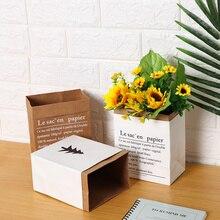 Vase Paper-Bag Floral-Main Home Flower Arrangement Mini-Storage Wedding Nordic-Style