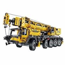 2016 New LEPIN 20004 2606Pcs Technics Mobile Crane MK II Model Building Kits Minifigure Blocks Bricks Toys Compatible With 42009