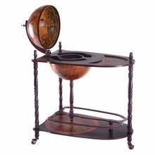 Sixteenth-Century Italian Wooden World Globe Bar