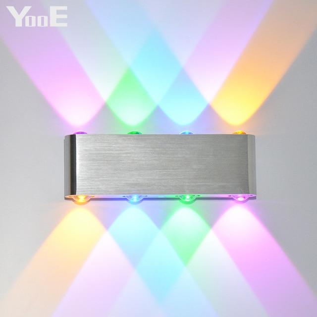 YooE Indoor Lighting Fashion LED Wall Lamps 8W AC100V/220V Wall ...