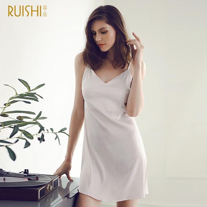 25ead5fe3f J Q female nightgown summer camisole dress night dress sleepwear gecelik chemise  de nuit femme classy silk lingerie night gown